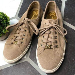 Michael Kors beige sneakers size 8
